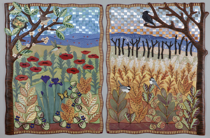 Seasons Diptych
