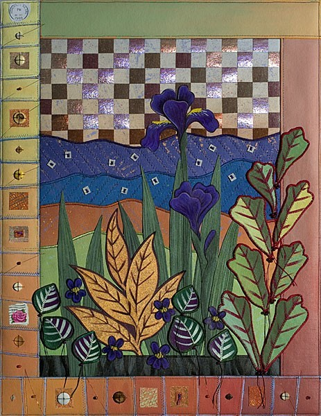 Blue Ridge Window / Spring Iris