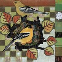 Goldfinch Pair II