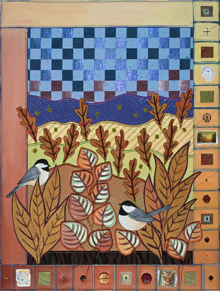 Chickadees in Autumn