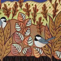 Chickadees in Autumn